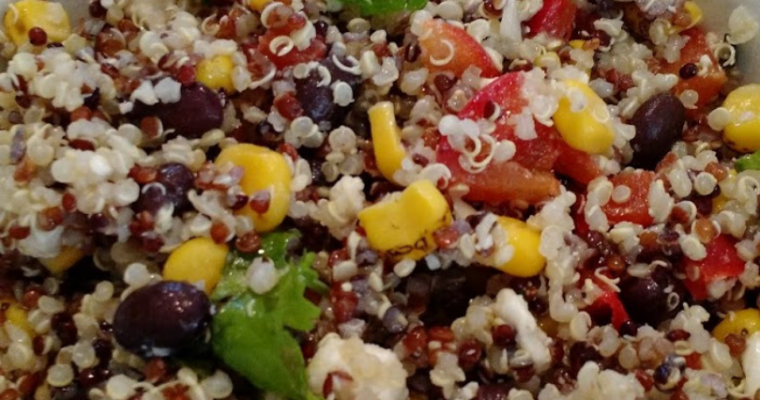 Tex Mex Quinoa Recipe