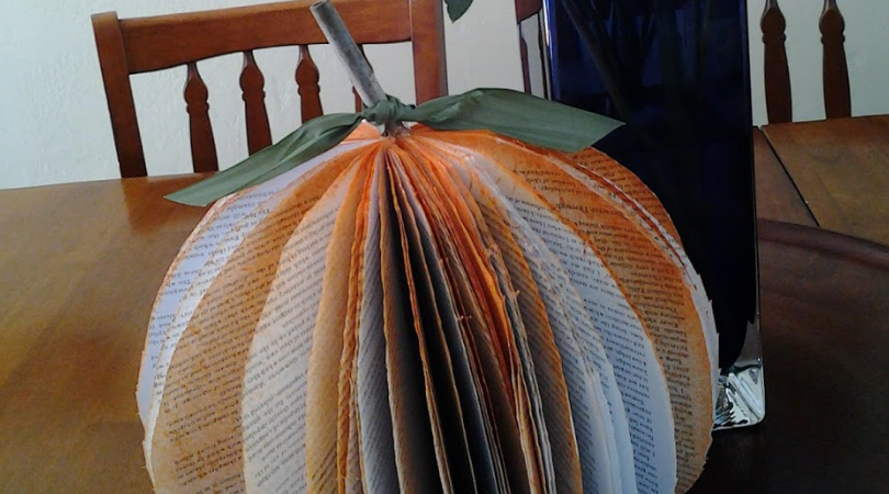 Pumpkin Out of a Book Project