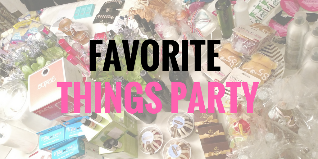 Girls Night Idea: Favorite Things Party