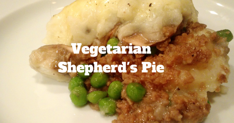 Vegetarian Shepherd's Pie for St. Patrick's Day
