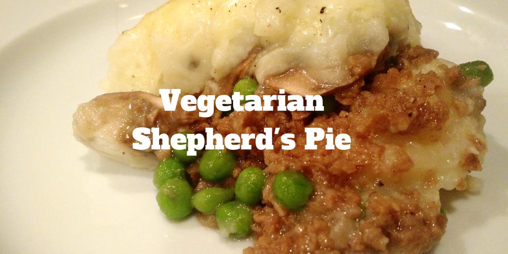 Vegetarian Shepherd's Pie for St. Patrick's Day