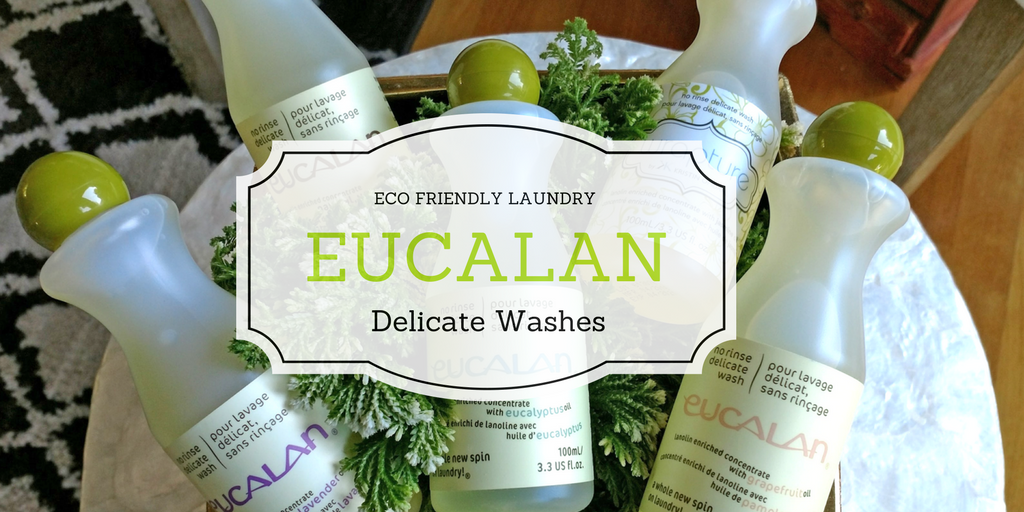 Eco-Friendly Laundry by Eucalan Delicate Washes