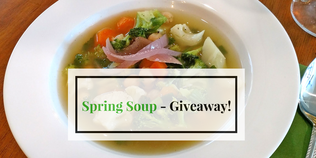 Spring Soup & Giveaway!