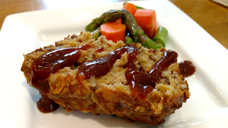 Vegetarian meat loaf recipe , high protein, low fat, gluten free