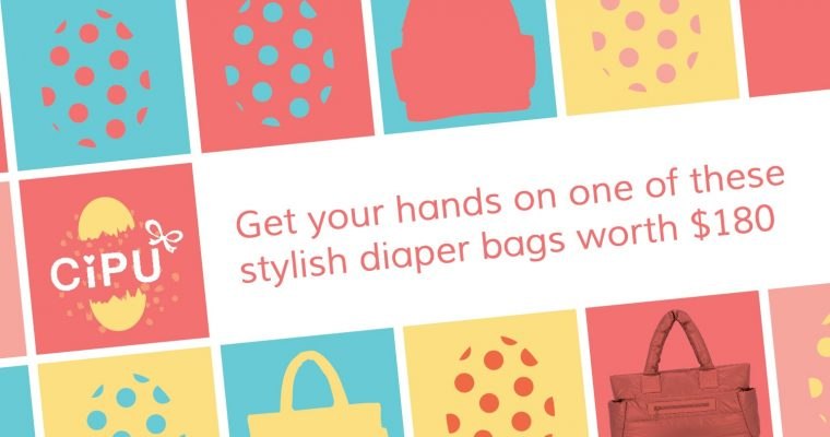 Diaper Bag Giveaway! Contest Ends April 30th, 2017