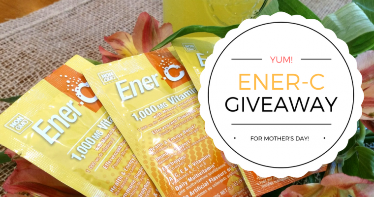 Peach Mango Ener-C Mother's Day Giveaway