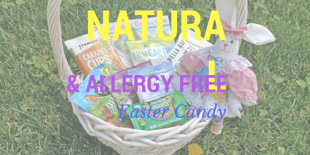 Natural & Allergy Free Easter Candy Choices