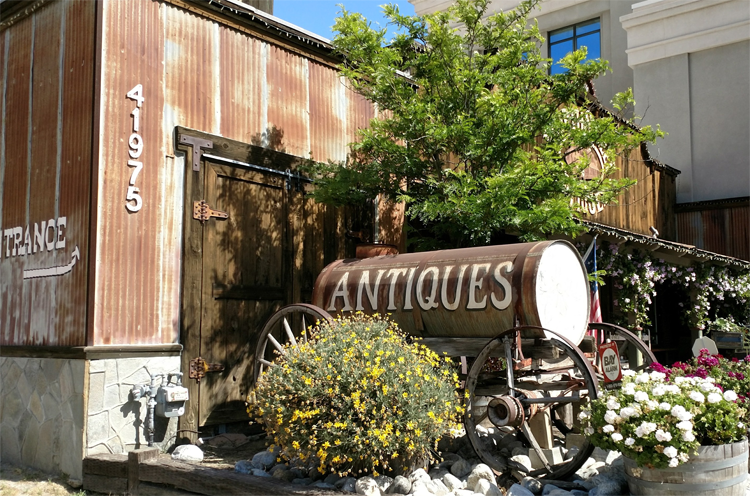 Staycation in Temecula - Old Town is a great spot to shop & eat!