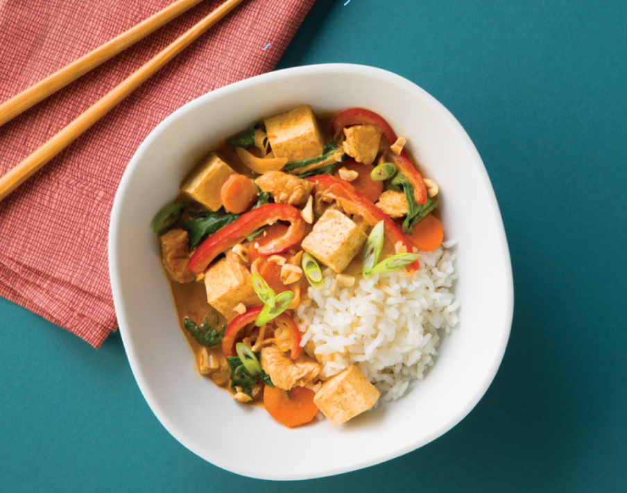 Thai Coconut Curry Tofu