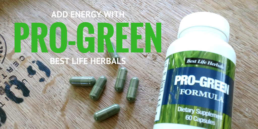 Add Pro-Green To Your Day For Energy