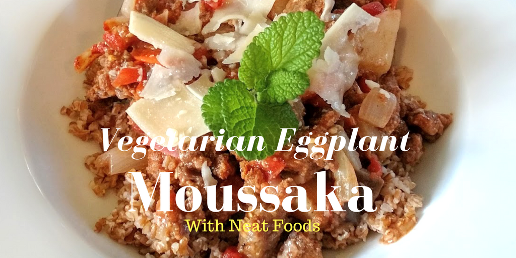 Vegetarian Eggplant Moussaka