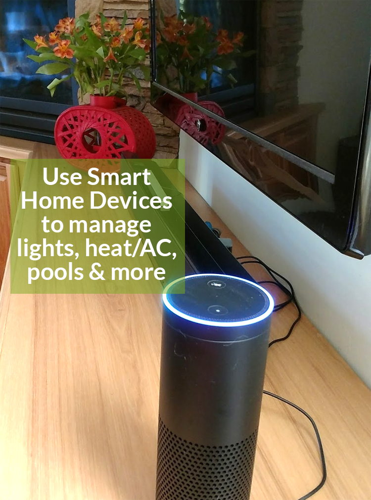 use smart home devices to manage your energy usage