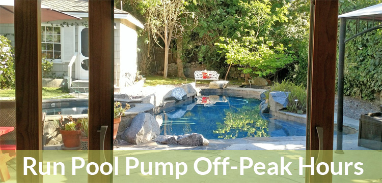 Save energy on your bill by running your pool pump in the morning.