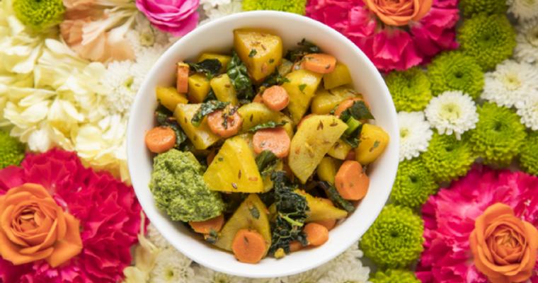 Beet Sabji Salad