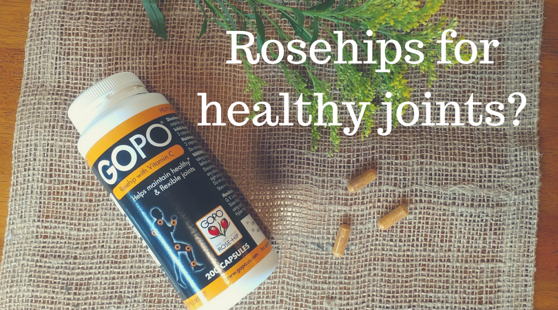 Rosehips for Healthy Hips? Yes!