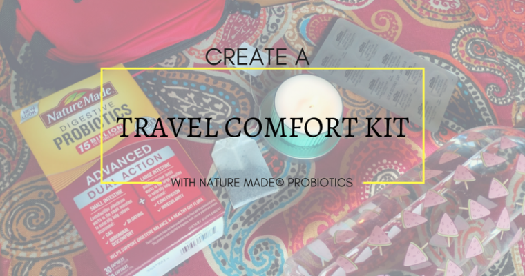 Create a Travel Comfort Kit with Nature Made® Probiotics