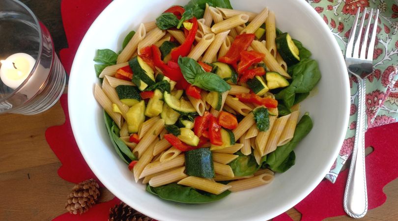Coconut Curry Vegetable Pasta with Barilla ProteinPLUS