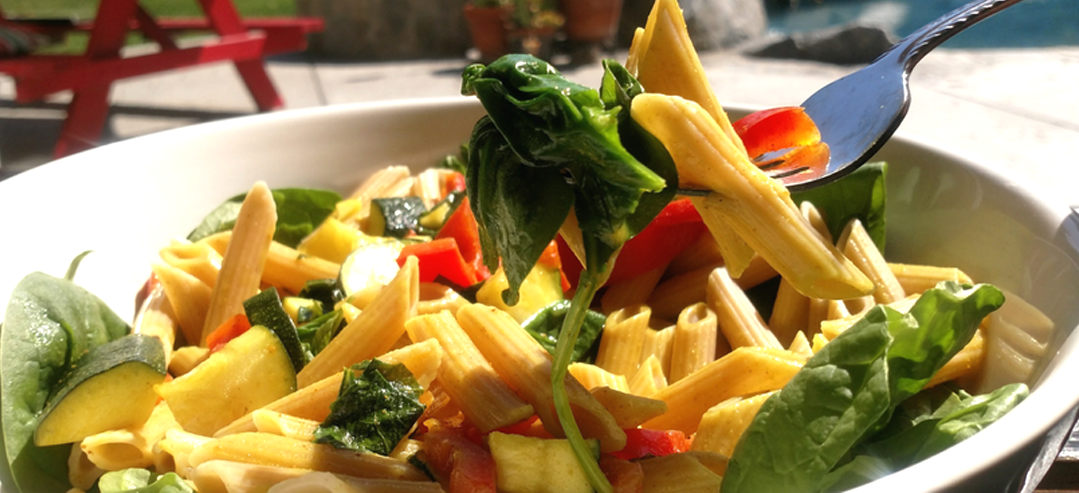 Coconut Curry Vegetable Pasta