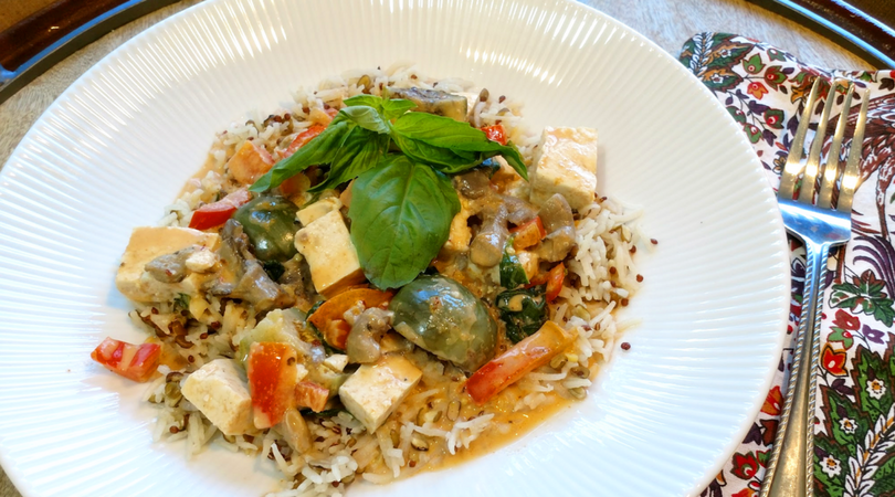 Thai Eggplant Red Curry