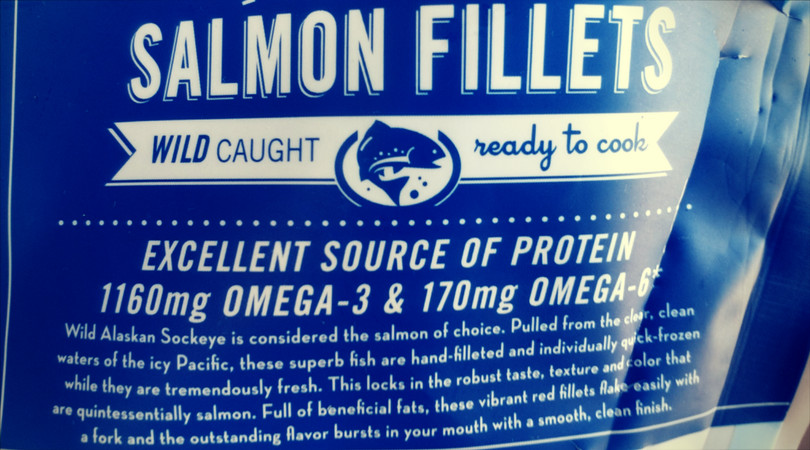 Wild Caught Alaska Salmon at Whole Foods