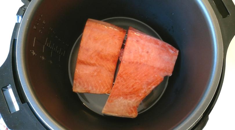 frozen Alaska Salmon