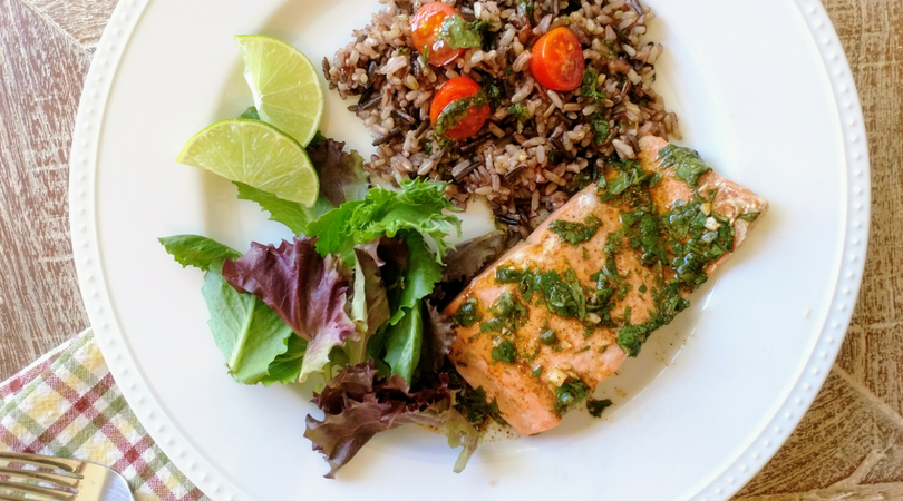 Chili Lime Alaska Salmon in a Pressure Cooker