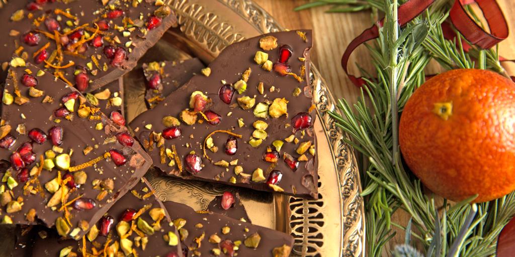 Holiday Chocolate Bark