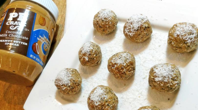 no bake chia peanut butter ballls