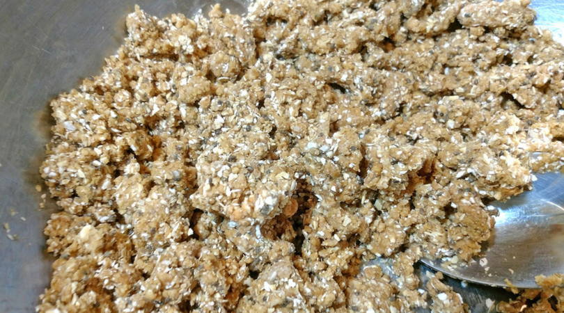 no bake chia peanut butter ingredients