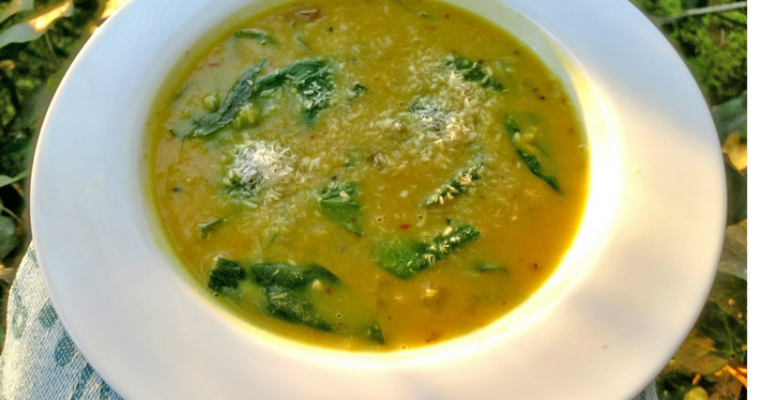 Coconut Curry Red Lentil Soup