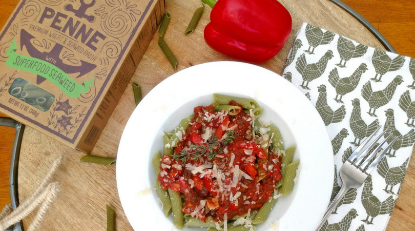 Blue Evolution's Seaweed Pasta is Super Food & a Planet Super Hero