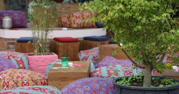 Outdoor Boho Garden DIY