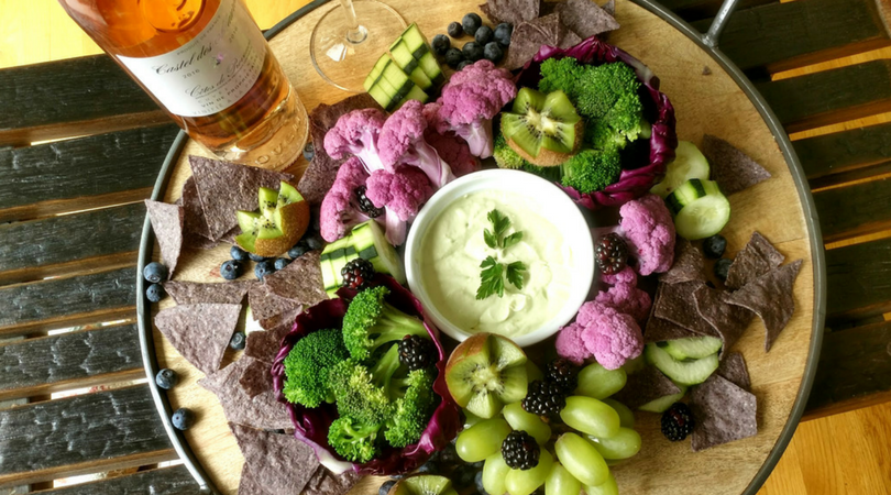 Create a Party Platter by Color