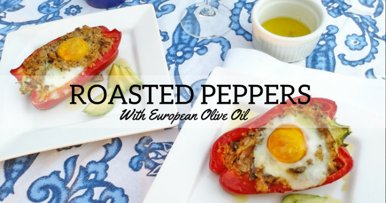 Roasted Vegetarian Peppers with European Extra Virgin Olive Oil