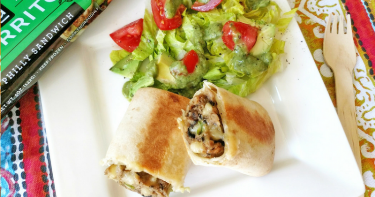 Celebrate Meatless Monday with an Alpha Burrito