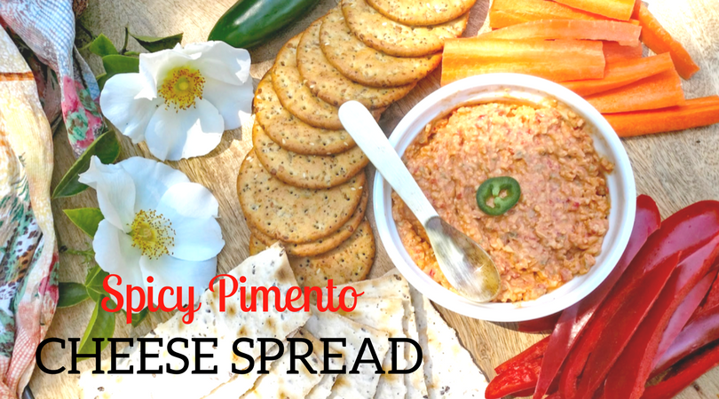 Spicy Pimento Cheese Spread