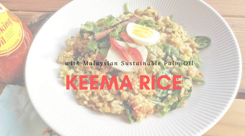 Keema Rice with Malaysian Sustainable Palm Oil