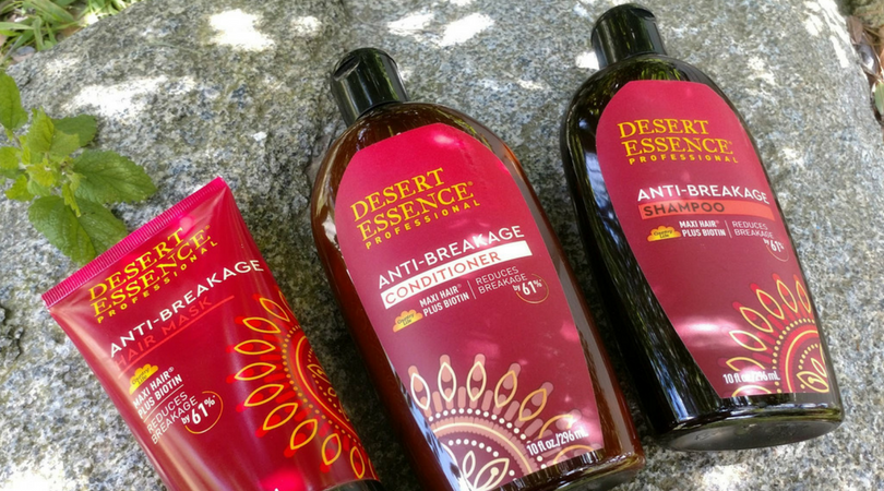 Protect Summer Hair with Desert Essence