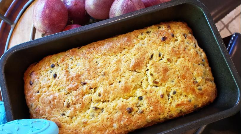 Lilikoi (Passionfruit) Quick Bread Recipe