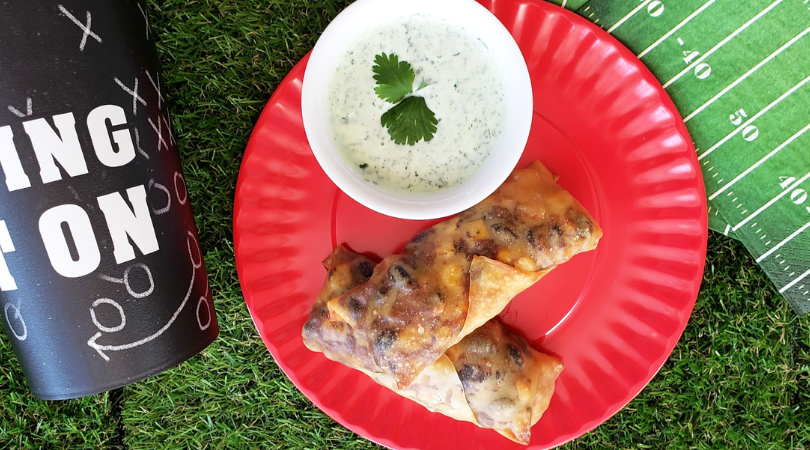 Crispy Vegetarian Taco Eggrolls – Great for Bowl Games!
