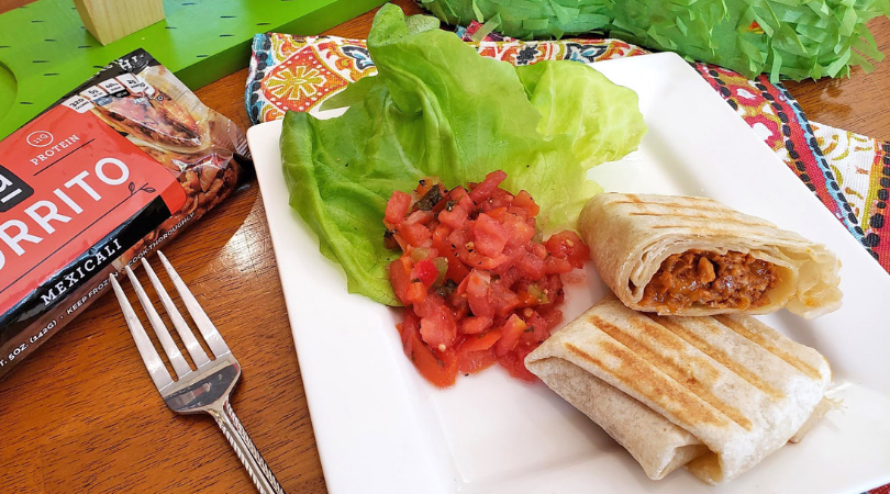Perfect After School Snack: Plant Based Burritos