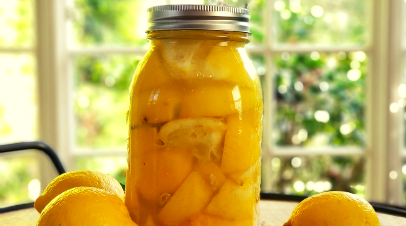 Preserving Lemons with Salt