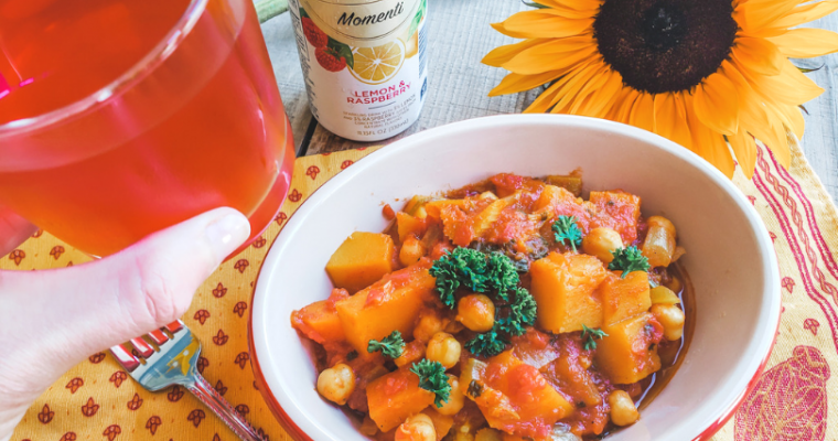 Tangy Vegetable Tagine with Preserved Lemons