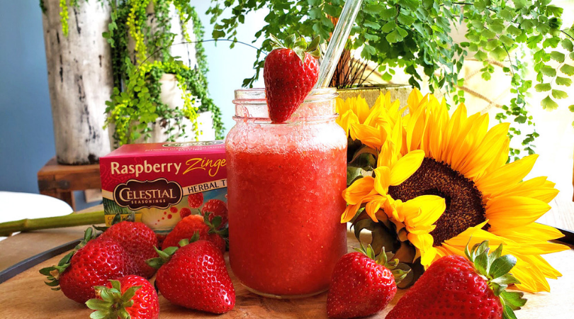 My Favorite Healthy Summer Drink : Berry Berry Zinger