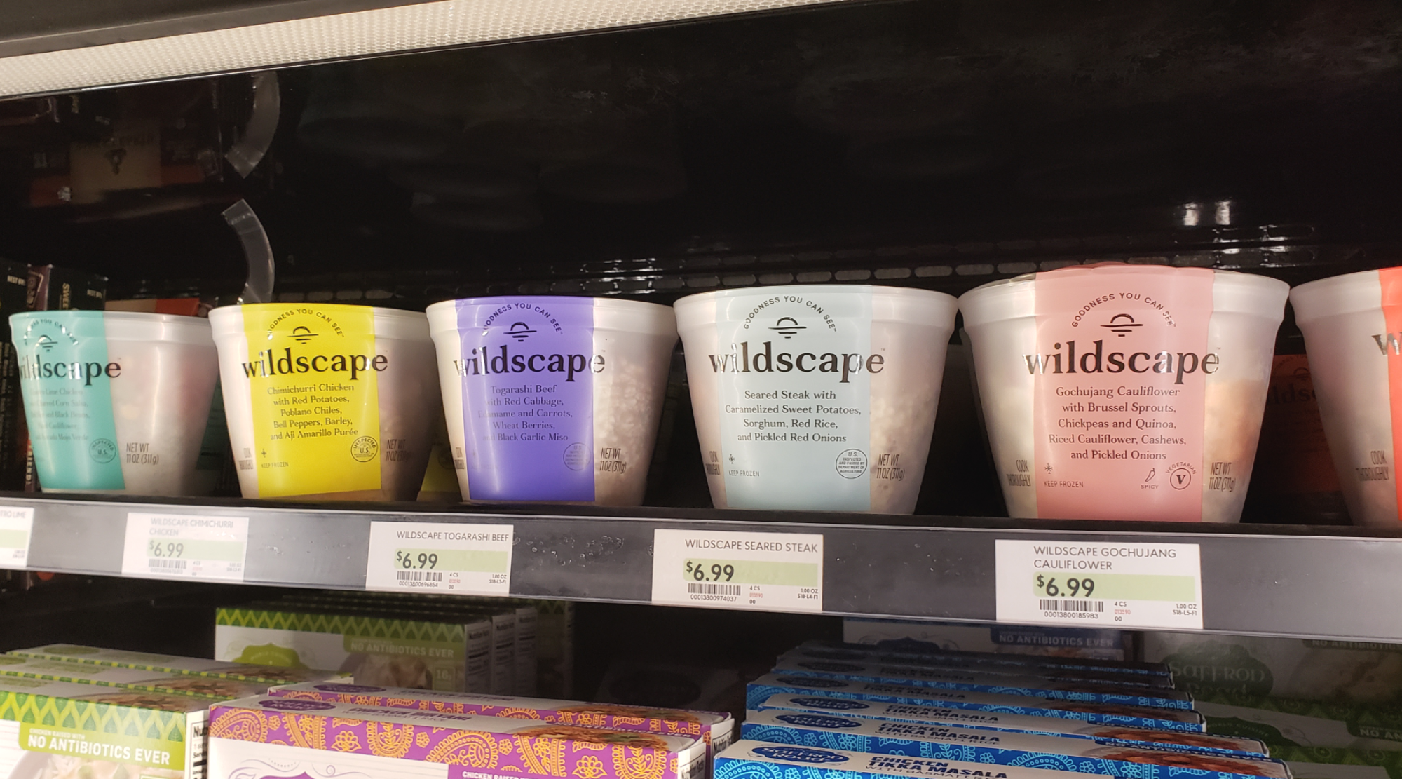 Wildscape meals available at fresh Market