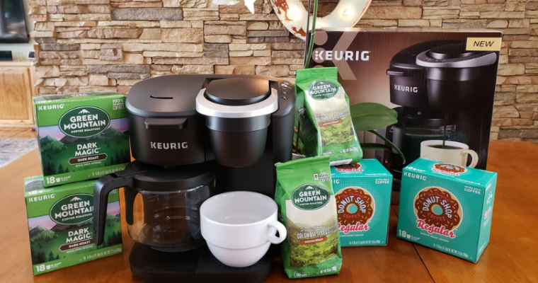 Saving Counterspace with the New Keurig® K-Duo Essentials™ Coffee Maker