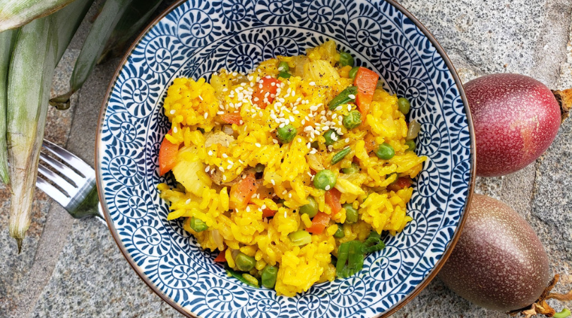 Easy Pineapple Rice