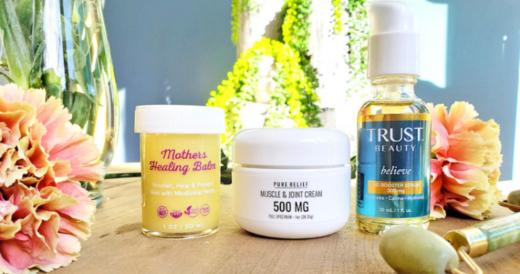 3 CBD & Hemp Oil Body Care Products that are Game Changers