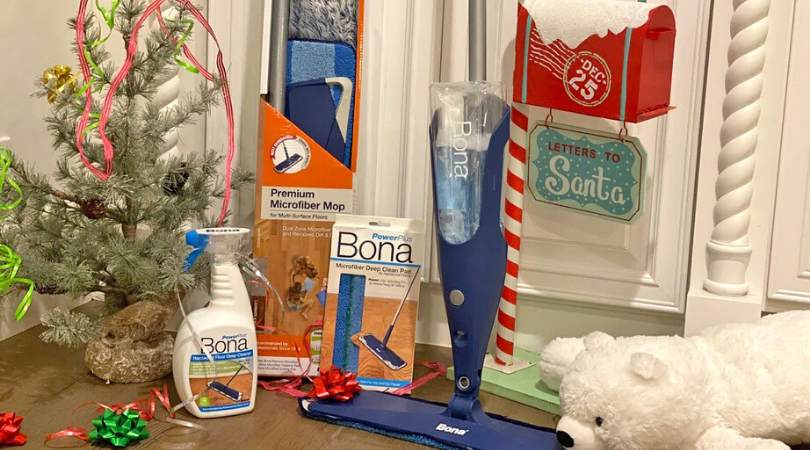 Holiday stress? Let Bona Powerplus clean the mess!