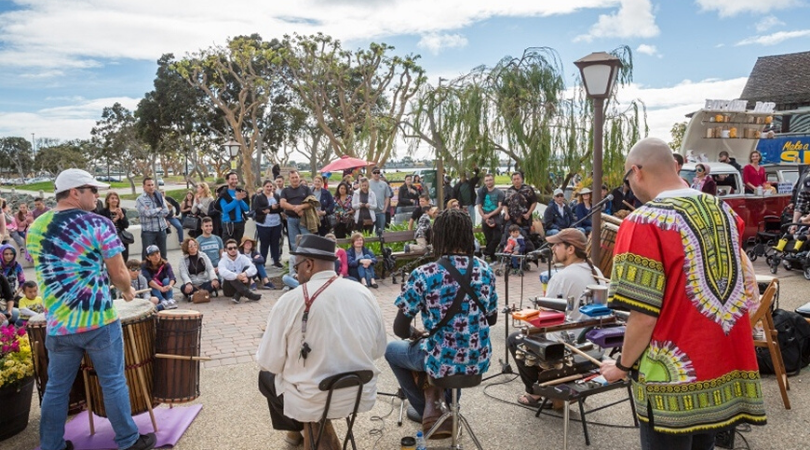 San Diego Busker Event